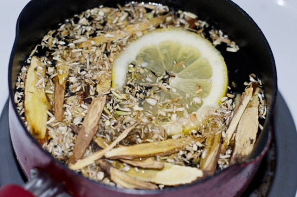 Marshmallow and Licorice Root Tea by Mary Banducci