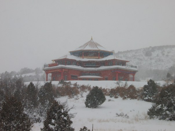 The Temple at Tara Mandala, Winter 2010