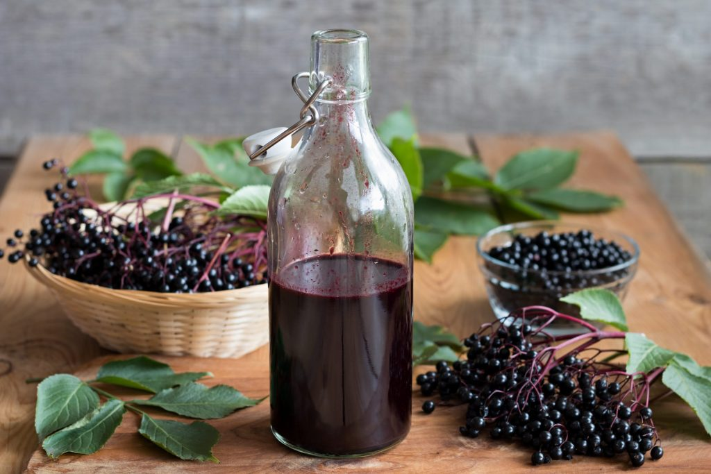 DIY: Organic Elderberry Syrup Recipe