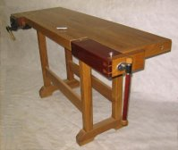 Classic woodworkers bench
