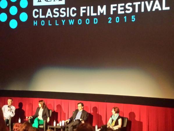 Charles Tabesh, Ben Mankiewicz, Jennifer Dorian and Genevieve McGillicuddy (Photo: THT)