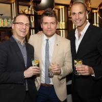 Nigel Barker Debuts World's Best Gin & Tonic w/ AC Hotels + Bombay Saphire Gin During Art Week 2016