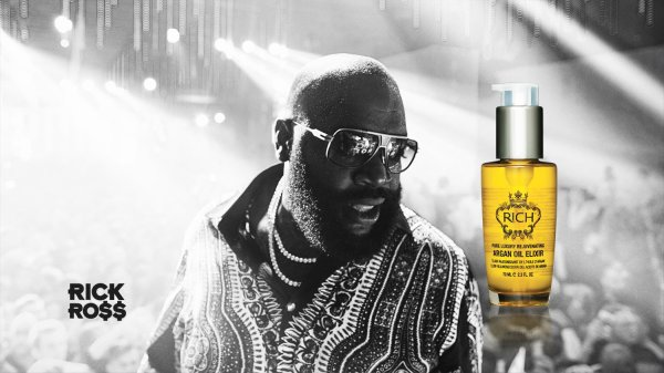 Rick Ross Debut Beard-grooming Products Rich