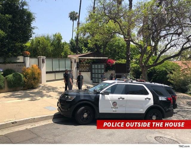 rihanna's home police