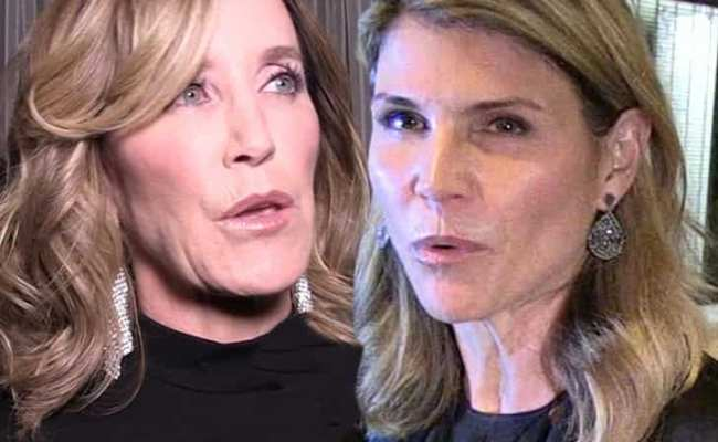 Felicity Huffman Lori Loughlin Busted On College