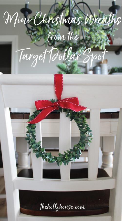 DIY Mini Christmas Wreaths