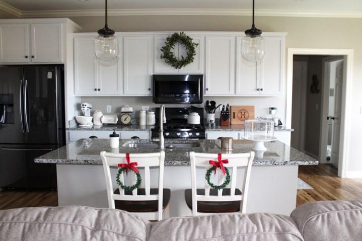 White Christmas Kitchen
