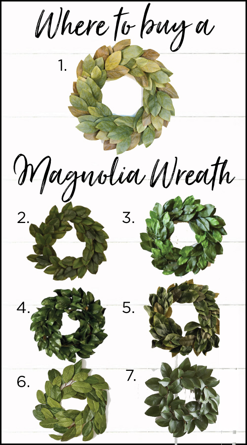 Where To Buy Magnolia Wreath