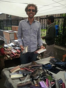 Shopping for purses in Kashmir