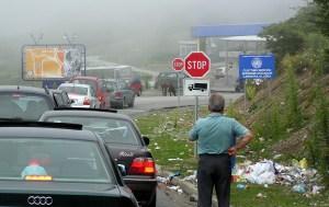 Kosovar border