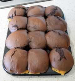Fresh from the oven, Part Deux: Choc Caramel Muffins