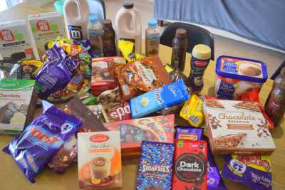 Photo of A$100+ of chocolatey food