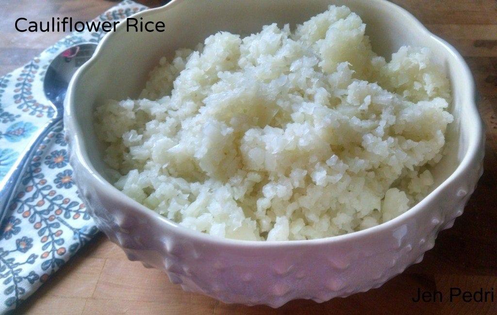 Cauliflower Rice|The Holy Mess