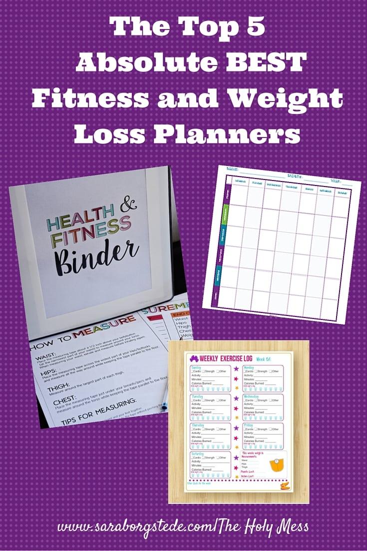 weight loss goal planner