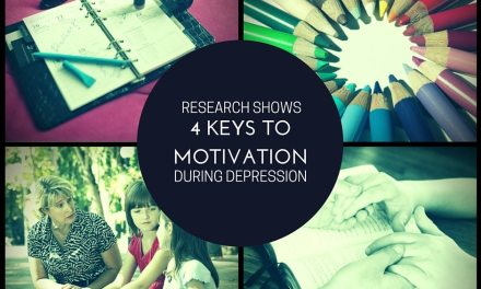 Research Shows 4 Keys to Motivation When You Are Depressed