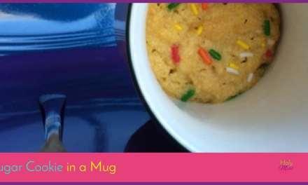 Sugar Cookie in a Mug