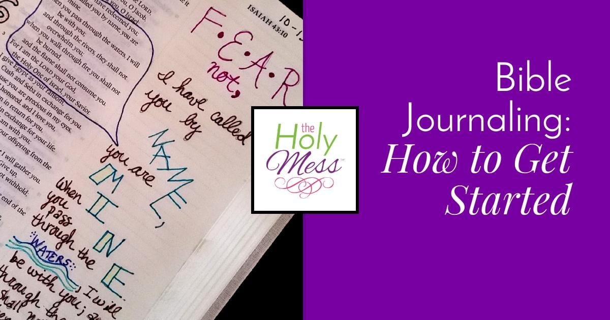 Bible Journaling Ideas: How to Get Started