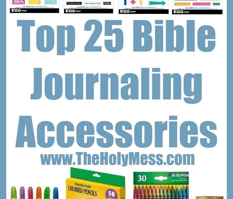 Top 25 Bible Journaling Accessories