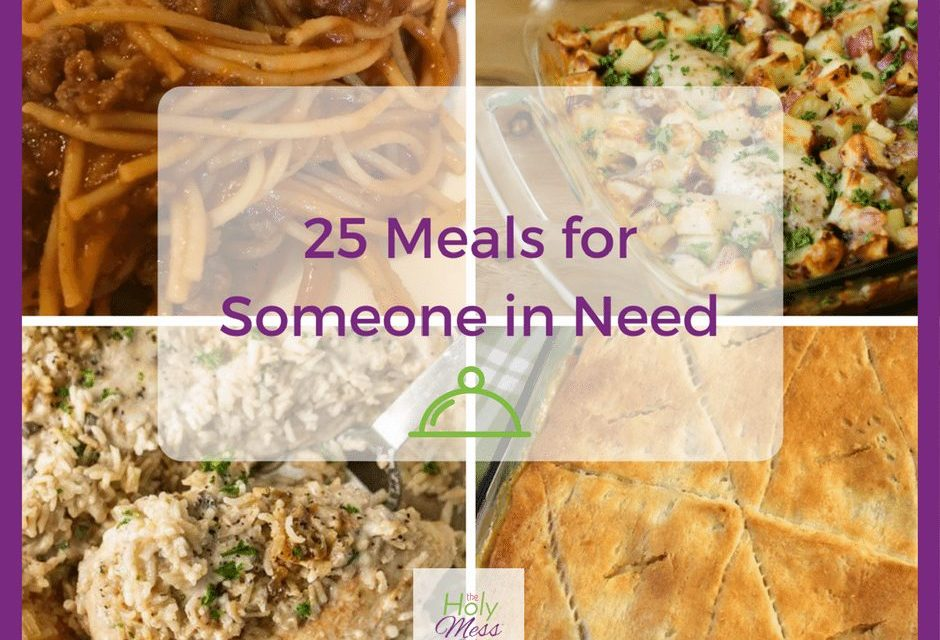 25 Meals for Someone in Need