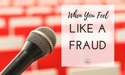 When You Feel Like a Fraud