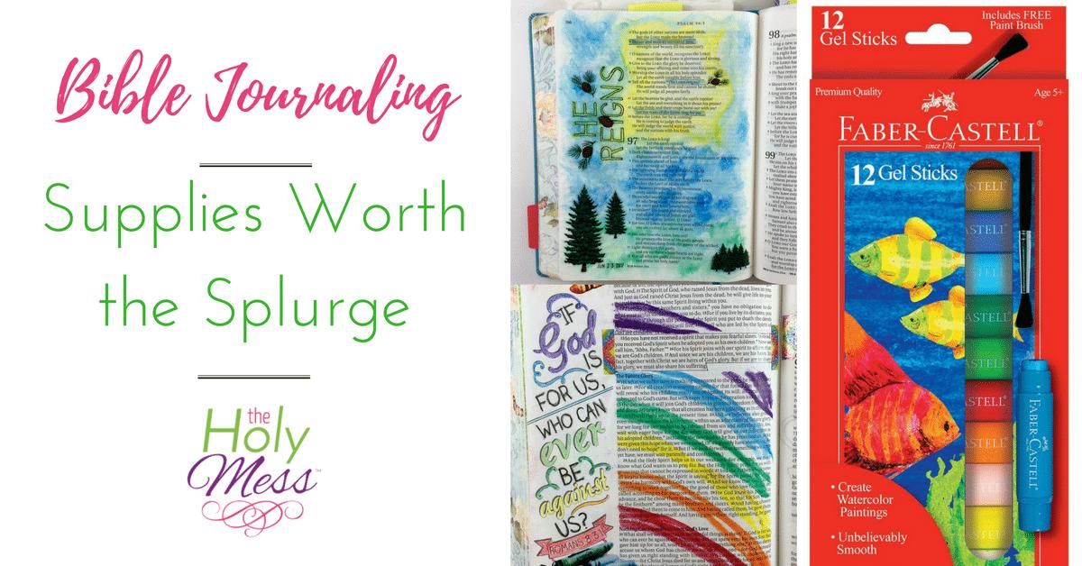 Bible Journaling Supplies Worth the Splurge