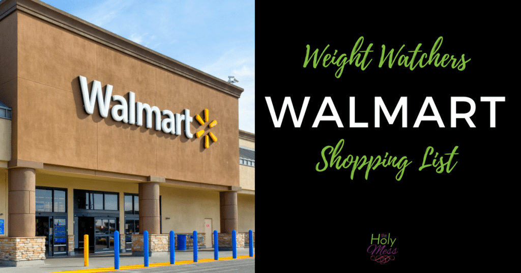 Weight Watchers Walmart Shopping List