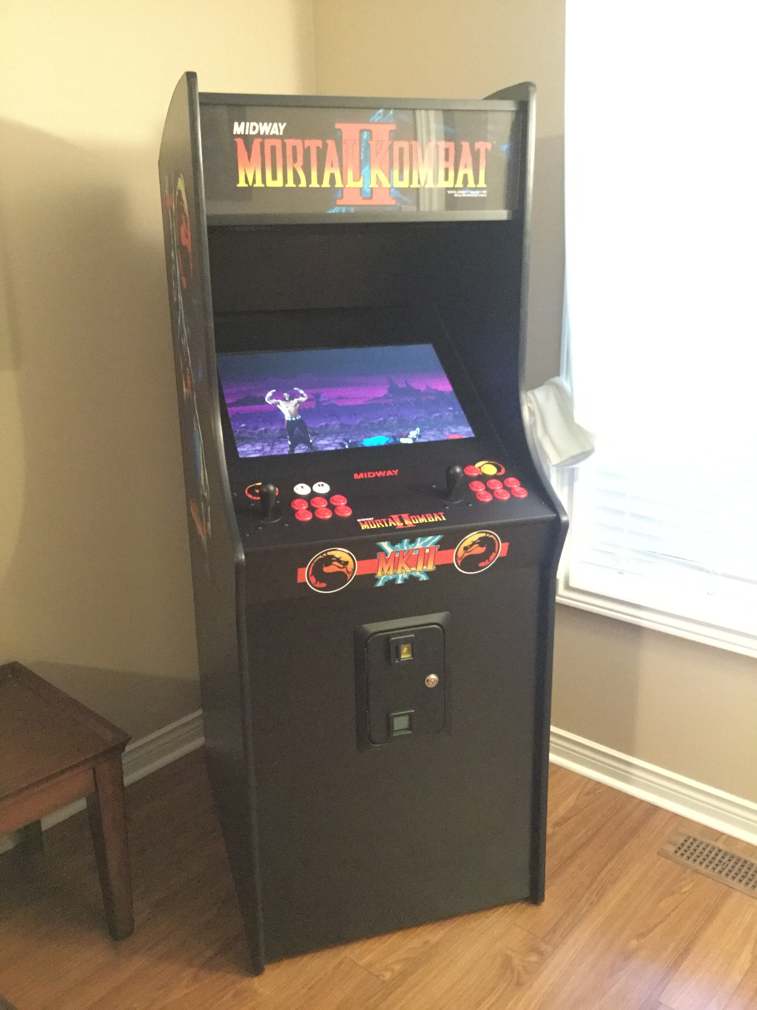 Full Size Arcade 24  Play the Classics at Home