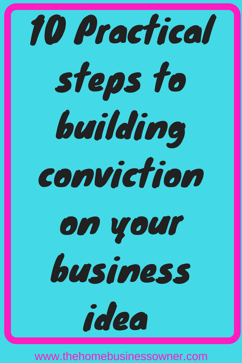 How to convince skeptics of your business idea