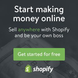 Shopify- Start an online shop today