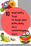 10 best baby toys to keep your baby busy as a WAHM(Ages 6m+)