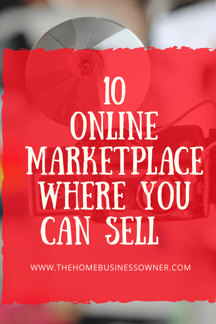 Online marketplace to sell your goods