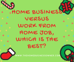 Pro's and Con's of Choosing a Home Business versus a Work from Home Job