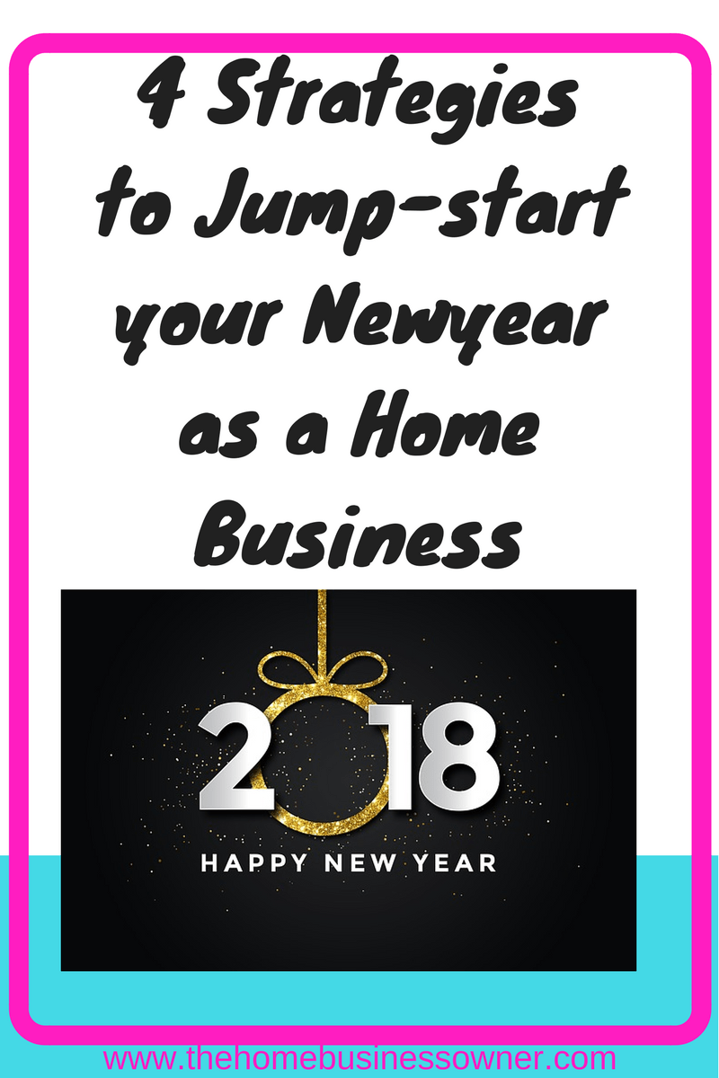 4 strategies to Jumpstart your newyear as a smallbusiness owner