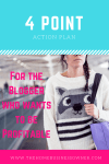The 4 point action plan for the Blogger who wants to be Profitable