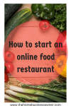 How to start an online food restaurant business