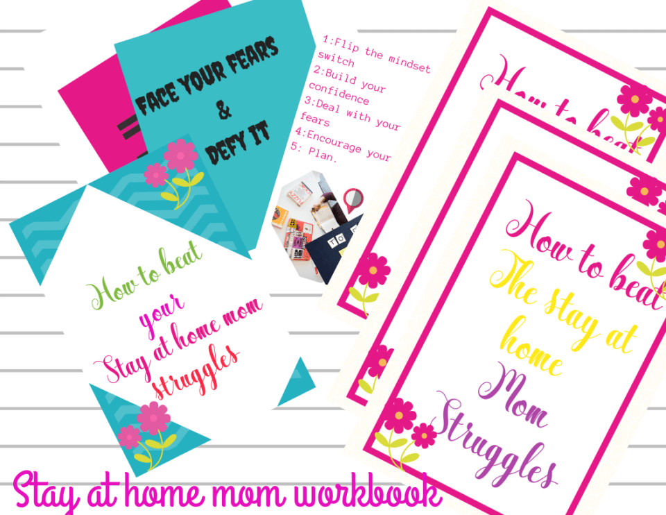 Stay at home mom workbook