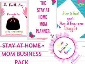 Stay at home mom business pack