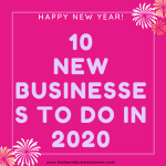 Top 10 hot new business ideas in 2020.