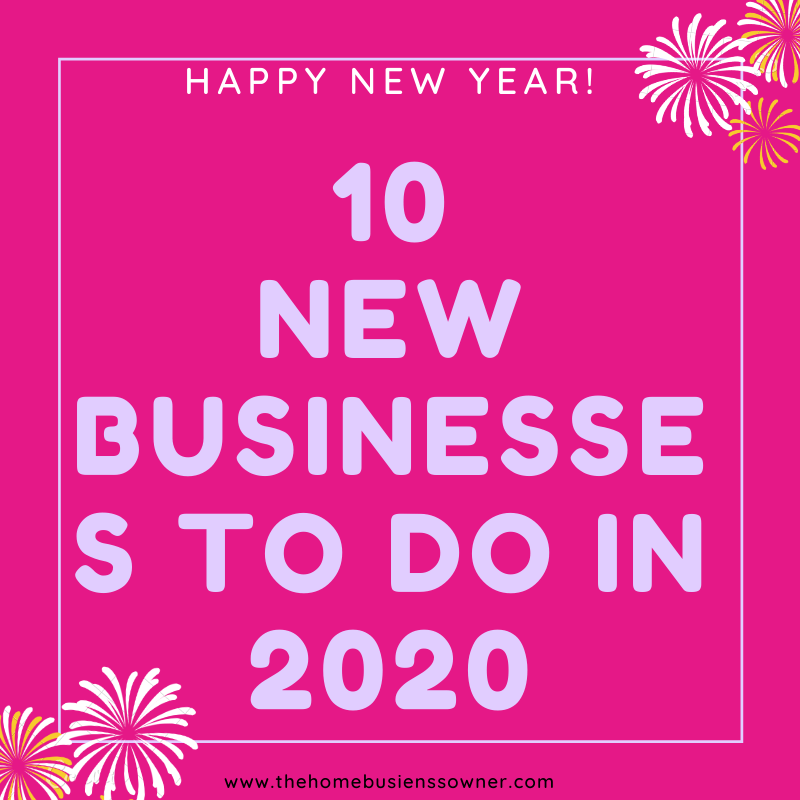 Hot new business ideas for 2020