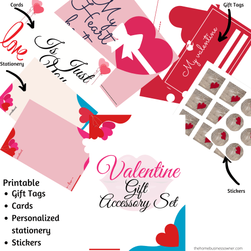 Valentines day Wallpaper, Cards, Stickers, Stationery. Gift tags