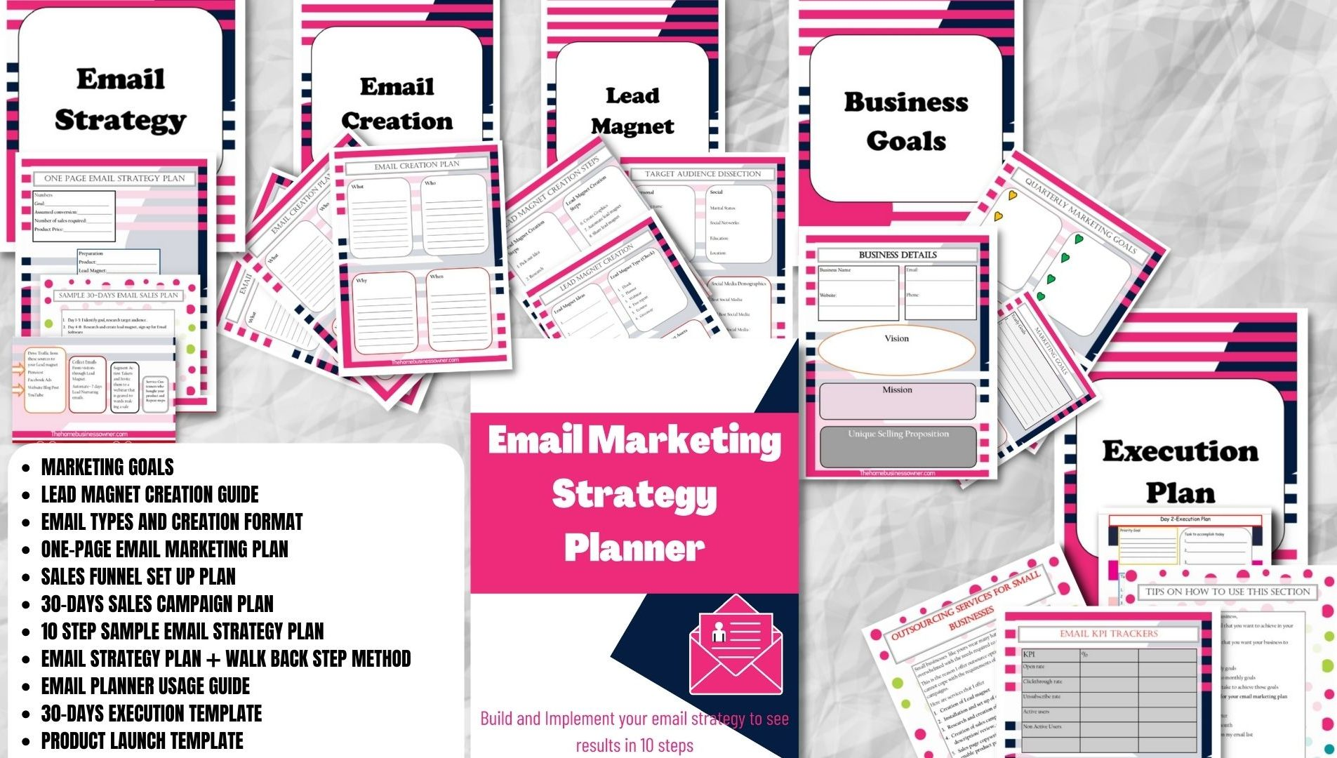 Email Marketing Strategy Planner