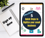 Tips to take your small business from offline to online.