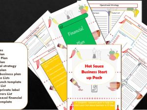 Hot Sauce Business Plan Pdf
