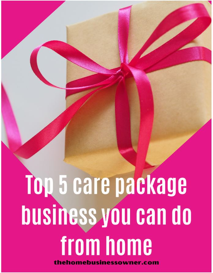 Care package business ideas