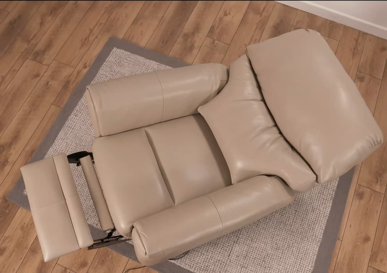 how do you take apart a recliner chair