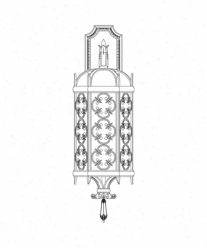 Minka Lavery 1498-252 Nanti 3 Light Semi Flush Mount in