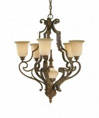 Fine Art Lamps 302640 Casa di Campagna 6 Light Island ...
