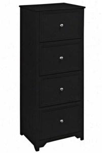Oxford File Cabinet - 4-Drawer, Black @ Home's Interior ...