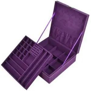 KLOUD City Purple Jewelry Organizer