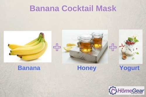 Banana Cocktail Mask